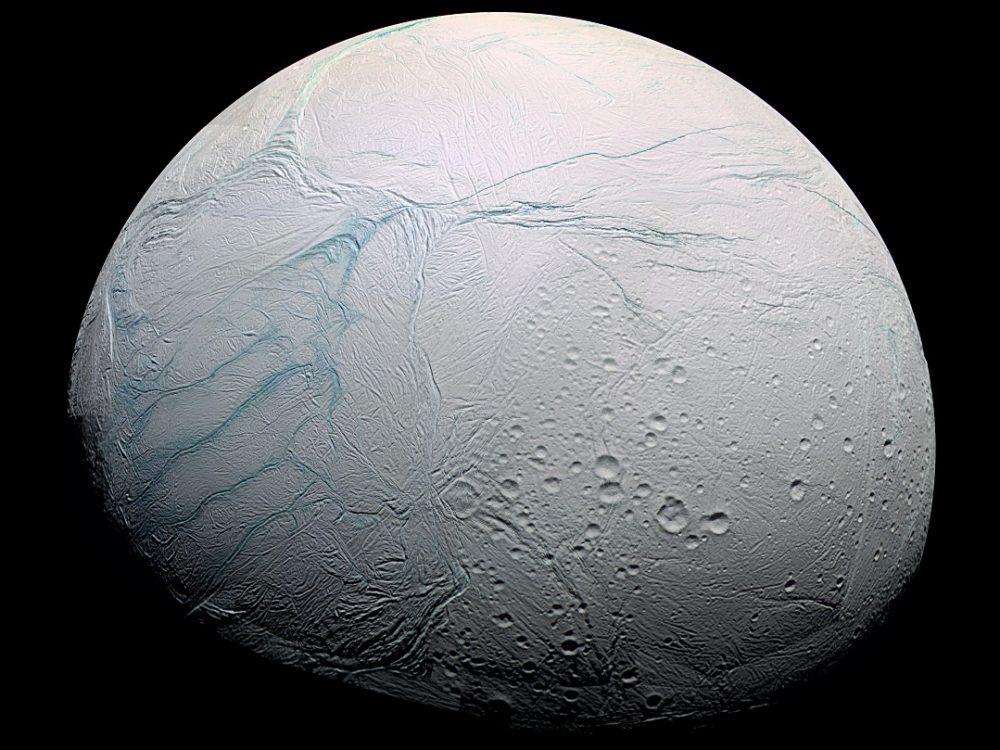 Saturn's moon life