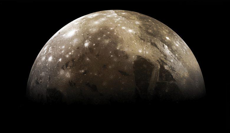 Water vapor Ganymede