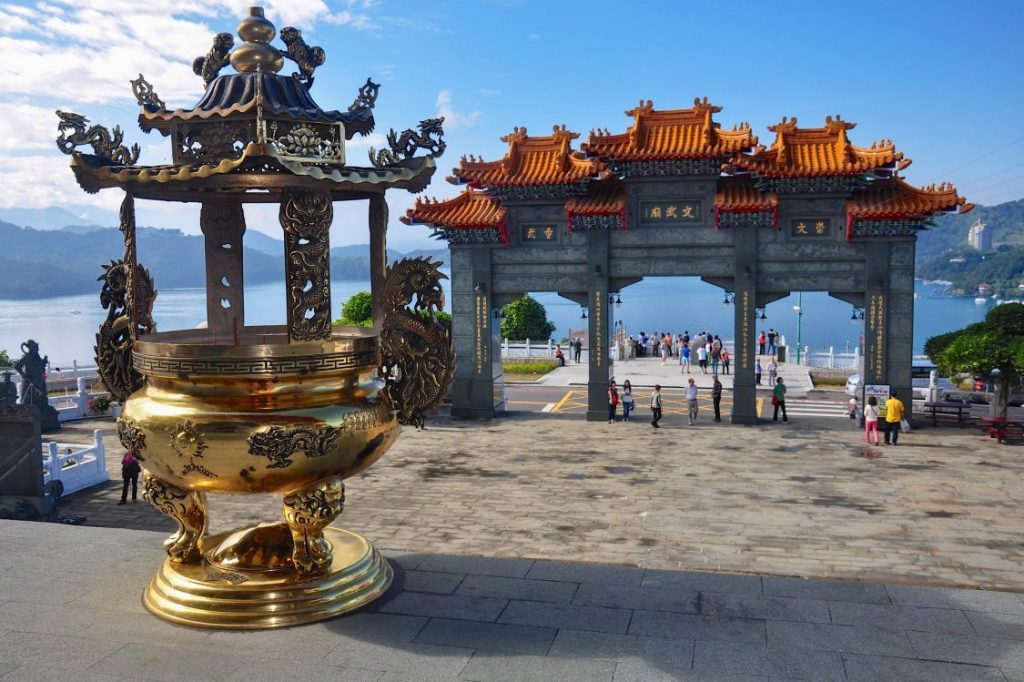 Wen Wu Temple at Sun Moon Lake Taiwan